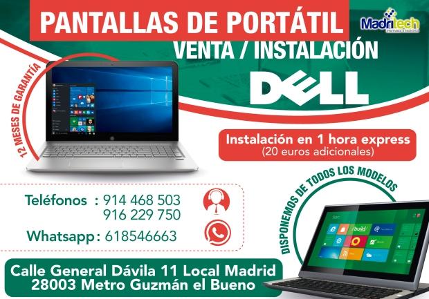 reparacion de pantallas de portatiles dell