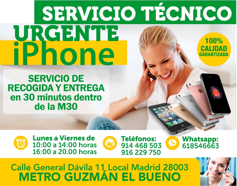 914468503 24 horas urgencias para iphone