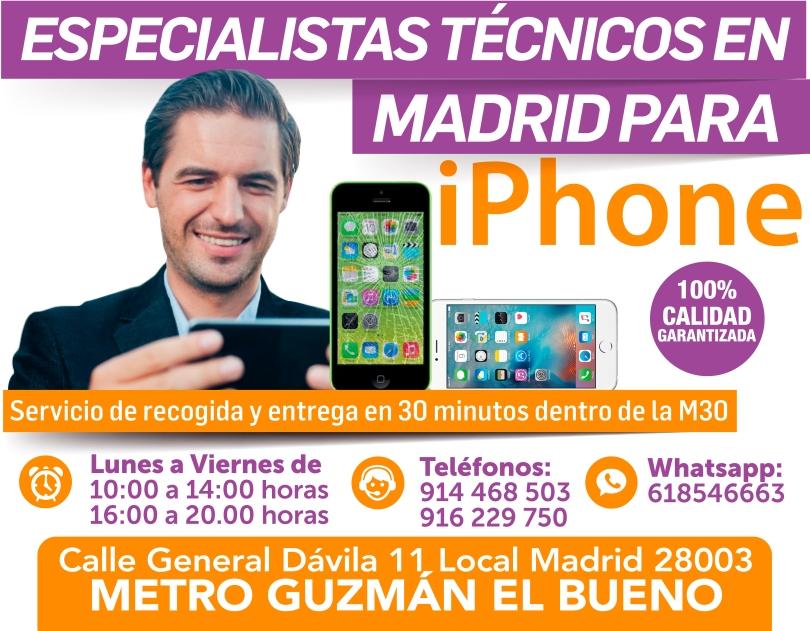 914468503 confiabilidad y garantia para iphone en madritech
