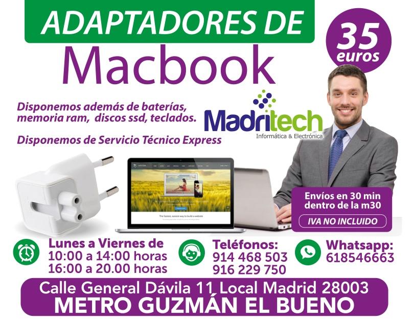 adaptadores de macbook