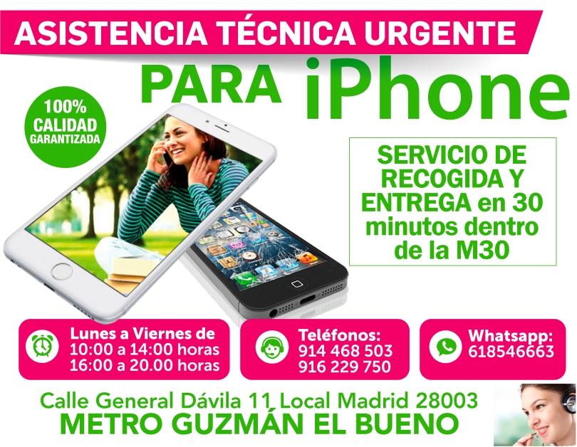 atencion y respuesta inmediata para iphone guzman el bueno