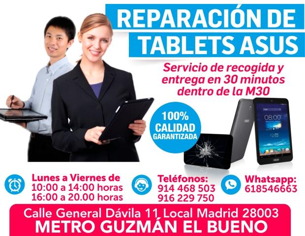 reparacion de tablets asus