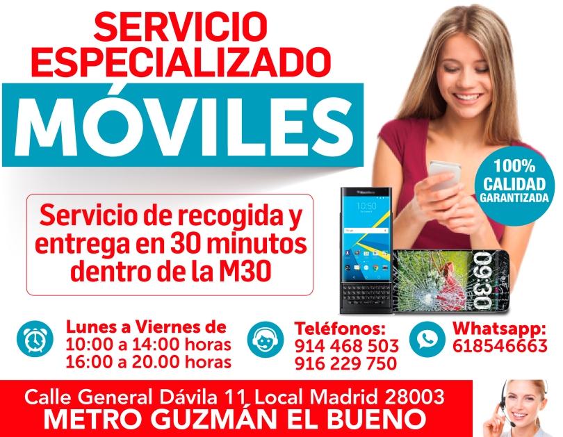 servicio especializado moviles