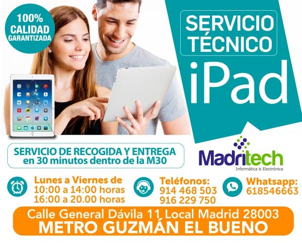 servicio tecnico ipad