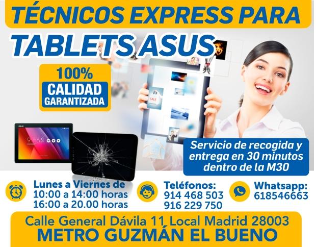 tecnicos express para tablets asus