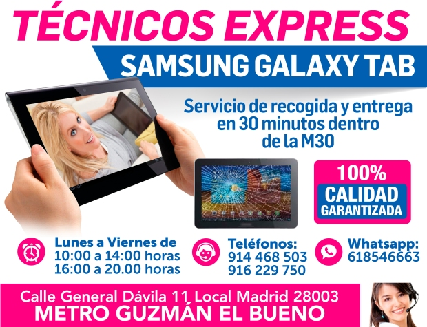 tecnicos express samsung galaxy tab