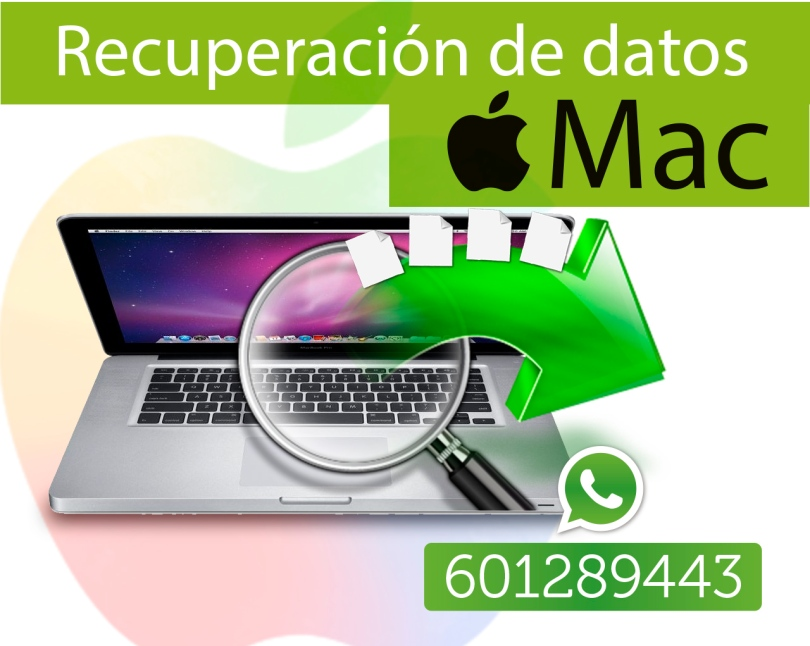 recuperacion de archivos apple macbook pro macbook air madrid